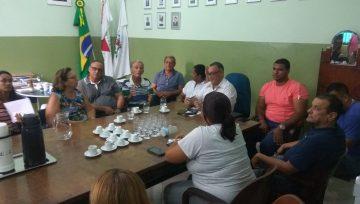 Administração Municipal se reúne com vereadores
