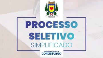 Publicados Processos Seletivos Simplificados